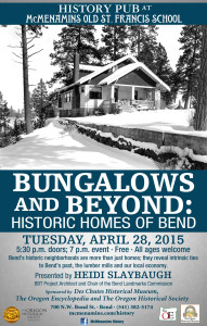 BEND History POSTER apr 15